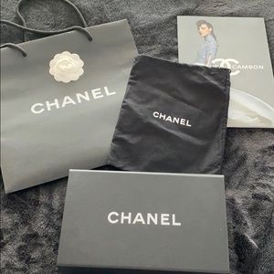Authentic Chanel packaging
